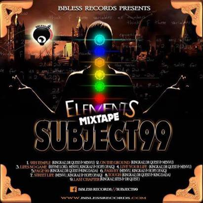 subject99 mixtape cover